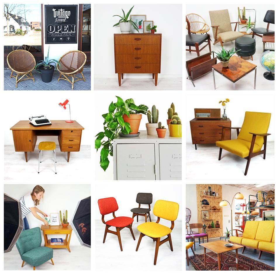 Vintage revival webshop en winkel omgeving utrecht for Webshop meubels